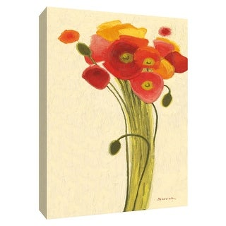 """PTM Images 9-154148  PTM Canvas Collection 10"""" x 8"""" - """"Sizzle III"""" Giclee Flowers Art Print on Canvas"""