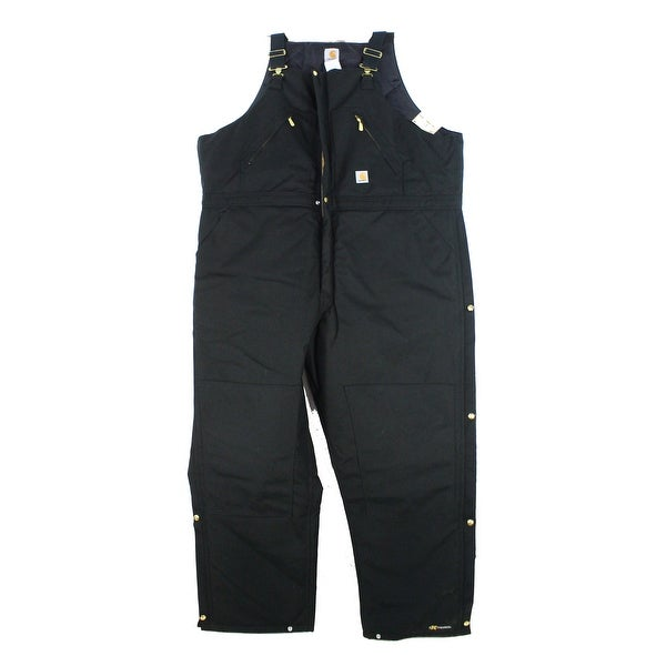 get online clearance most desirable fashion Carhartt Black Mens Size 36X32 Extremes Arctic Bibs Overalls