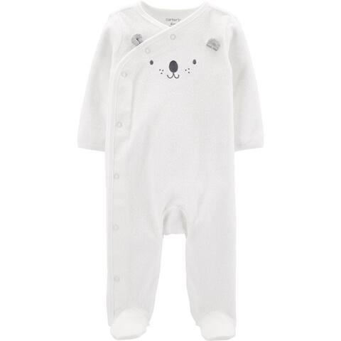 Carter's Baby Boy's Terry Sleeper - Bear, Newborn