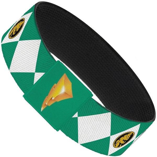 Diamond Green Ranger Elastic Bracelet