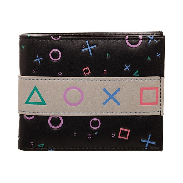 Sony Playstation Control Symbols Bi-Fold Wallet - One Size Fits most