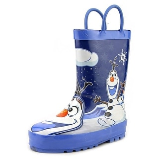 Western Chief Disney Frozen Olaf Round Toe Synthetic Rain Boot