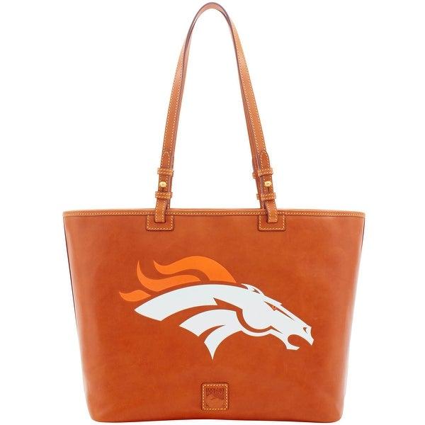 05e07d4e Shop Dooney & Bourke NFL Denver Broncos Leisure Shopper Tote ...