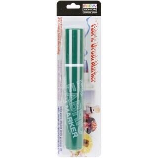 Fabric Brush Marker-Green - Green