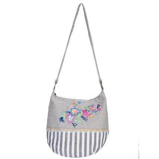 Scully Women's Dual Print Cotton Hobo Handbag - Multi - One size