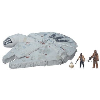 "Star Wars: The Force Awakens Millennium Falcon 3.75"" Scale Battle Action Vehicle"