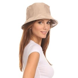 Twist to Pack Rain Hat Unisex