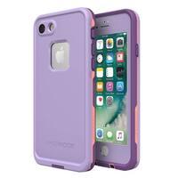 Orvisinc Lifeproof Series Waterproof Case for iPhone 7 Plus Purple