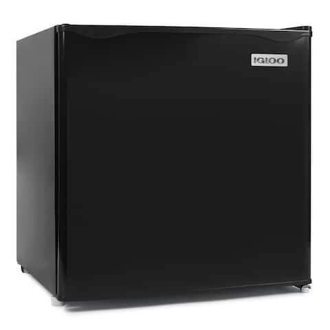 Igloo IRF16BK 1.6 Cu. Ft. Single Door Refrigerator with Freezer