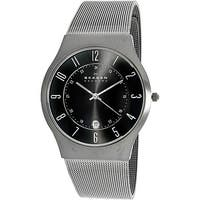 Skagen Men's 233XLTTM Grey Titanium Quartz Dress Watch