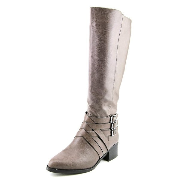 Mia Noralee Pointed Toe Synthetic Knee High Boot