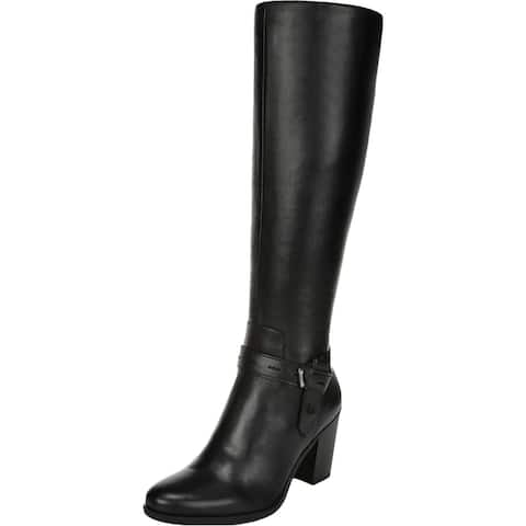 Naturalizer Womens Kamora WC Knee-High Boots Leather Tall