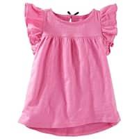 OshKosh B'gosh Baby Girls' TLC Flutter-Sleeve Tunic, 9 Months