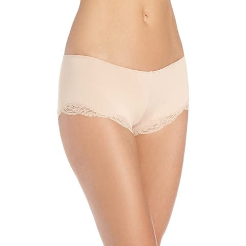 Only Hearts Womens Panties Beige Size Small S Delicious Lace Hipster