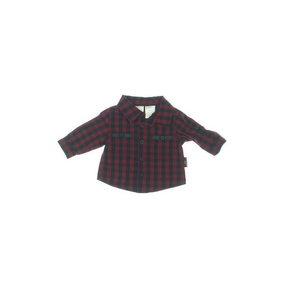 2670824d0 Shop Kardashian Kids Button-Down Shirt Newborn Boys Plaid - Free Shipping  On Orders Over $45 - Overstock - 23563908