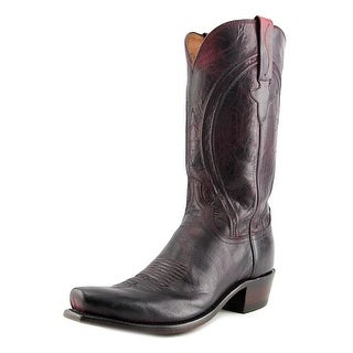 Lucchese BC MD Goat 2E Square Toe Leather Western Boot
