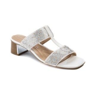 Andrew Geller Henlie Women's Sandals & Flip Flops White/Natural