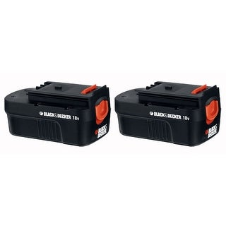Replacement Battery for Black & Decker HPB18 - 2 Pack