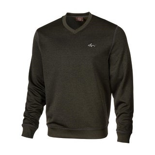 Greg Norman for Tasso Elba Mens V-Neck Sweater Fleece Water Repellant - S
