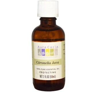 Aura Cacia Essential Oil Citronella 2-ounce