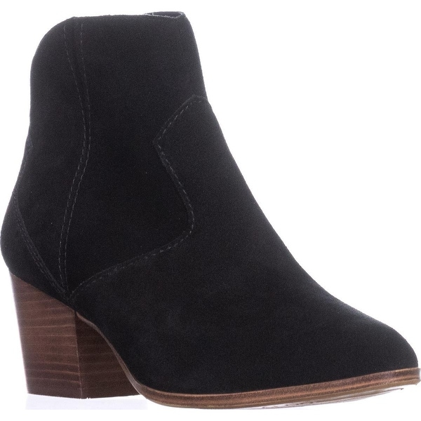 Aldo Marecchia Pointed-Toe Ankle Booties, Black Suede