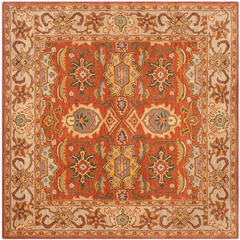 Safavieh Handmade Heritage Britney Traditional Oriental Wool Rug