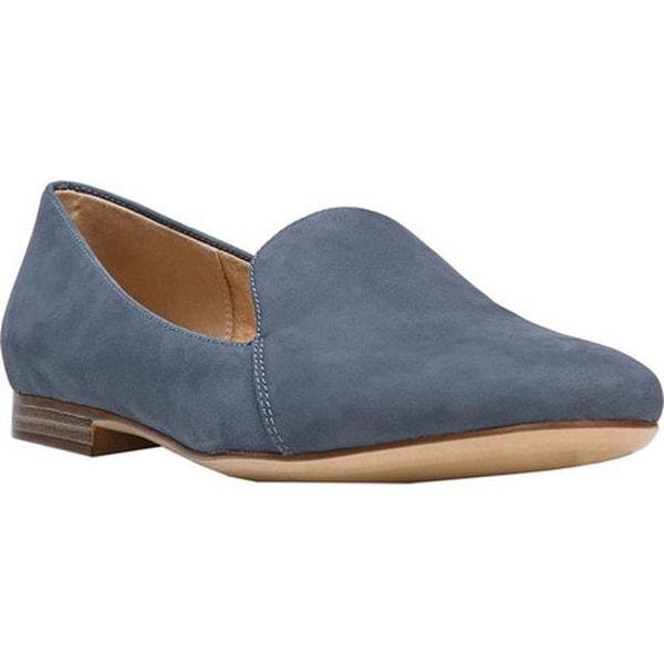 c480225cd82 ... Women s Shoes     Women s Flats. Naturalizer Women  x27 s Emiline Loafer  Paris Blue Nubuck