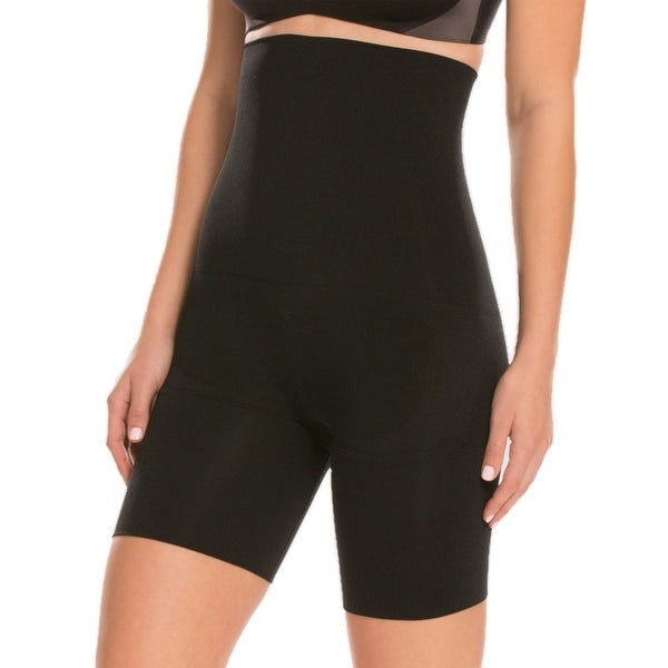 724c682a82 Assets Spanx Women Remarkable Results Mid-Thigh Shaping High-Waist Short