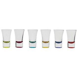 Palais Glassware Verre a Liqueur Elegent Heavy Base Shot Glass Set, 1.5 Ounce - Set of 6 .