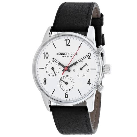 Kenneth Cole Men's Dress Sport White Dial Watch - KC50953001 - One Size