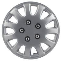 Pilot Automotive WH525-14S-BX 5 Lug Silver 14/ 15-inch Wheel Cover (Pack of 4)