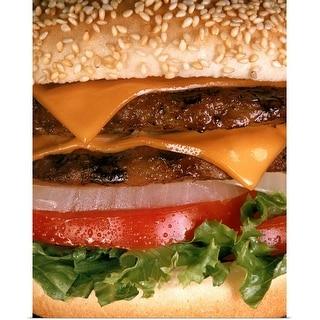 """""""Cheeseburger"""" Poster Print"""