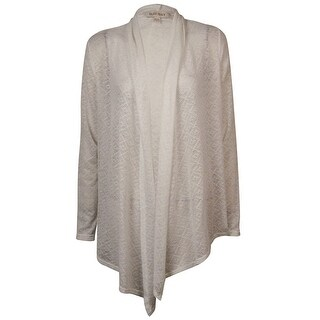 Ellen Tracy Women's Sheer Long Sleeves Knit Cardigan - ps