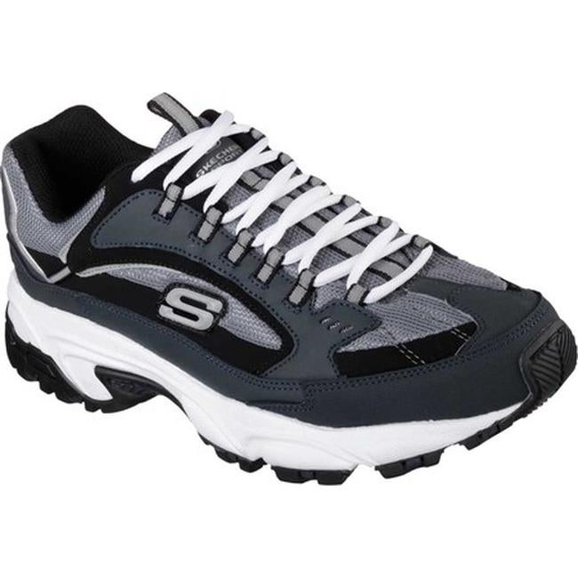 9678bd27324 Shop Skechers Men's Stamina Cutback Training Shoe Navy/Black - On Sale - Free  Shipping Today - Overstock - 10784625