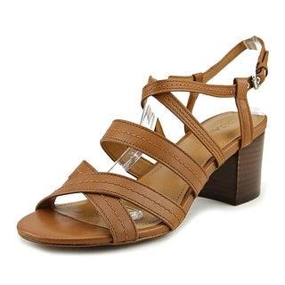 Coach Terri   Open Toe Leather  Sandals