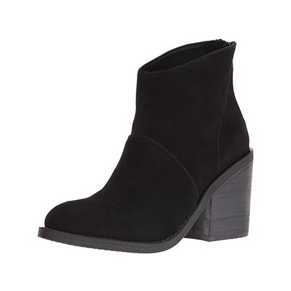 Steve Madden Womens Shrines Ankle Boots Suede