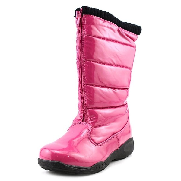Tundra Puffy Round Toe Synthetic Winter Boot