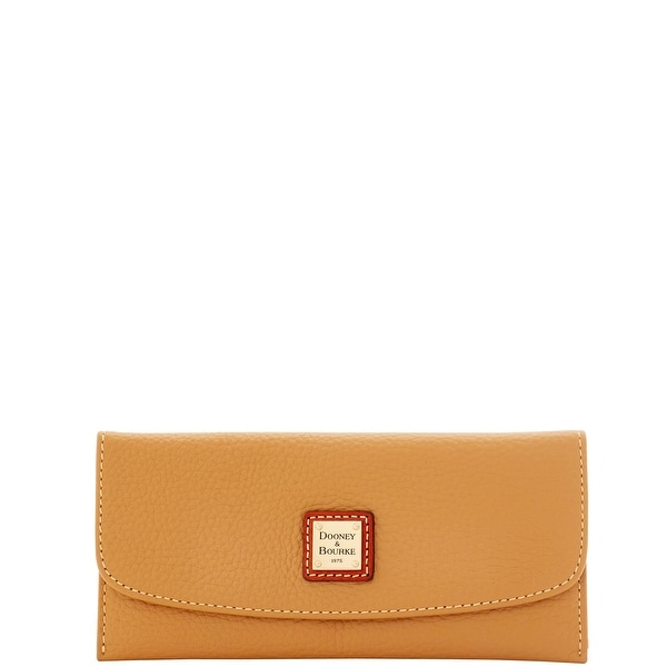 Dooney & Bourke Pebble Grain Slim Continental Clutch (Introduced by Dooney & Bourke at $88 in Jul 2016)