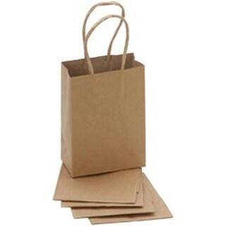 "Kraft - Paper Bags 2""X3.875""X5.125"" 5/Pkg"