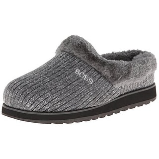 Skechers Womens Keepsakes Star Bright Knit Comfort Insole Slipper Shoes