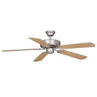 "Vaxcel Lighting FN52297-34 Medallion 52"" 5 Blade Indoor Ceiling Fan - Blades Included"