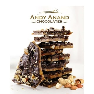 Link to Andy Anand English Toffee Peanut Brittle Sugar Free Keto & Diabetic Friendly, Vegan Similar Items in Gourmet Food Baskets