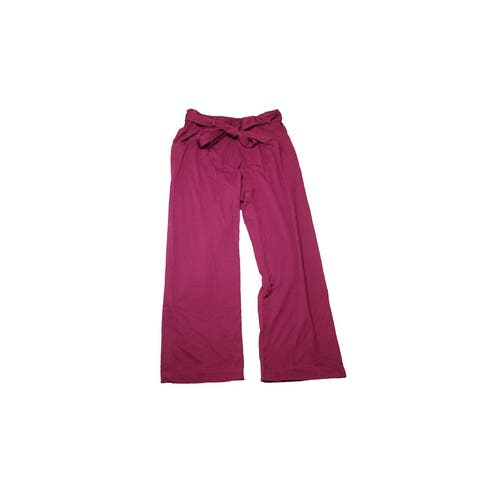Melissa Mccarthy Seven7 Plus Size Purple Wide-Leg Pleated Pants 0X