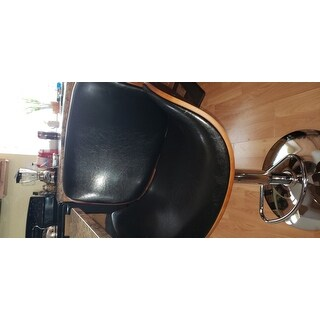 Carson Carrington Sauoarkrokur Adjustable Bar Stool