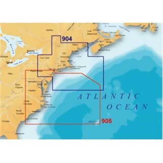 Navionics MSD/905PP Platinum Plut 905PP - US Mid Atlantic and Canyons