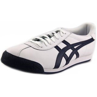 Onitsuka Tiger by Asics Pullus Men Round Toe Leather White Sneakers