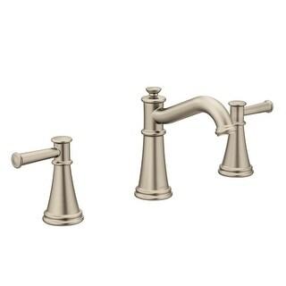 Moen T6405 Belfield 1.2 GPM Widespread Bathroom Faucet   Includes Metal  Pop Up Drain Assembly