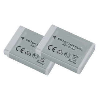 Battery for Canon NB13L / 9839B001-2-Pack Canon/Battery-NB-13L