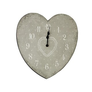 DDI 1891537 Heart Shape Wall Clock