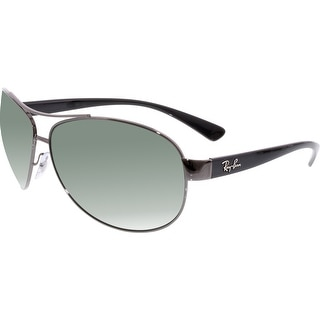 Ray-Ban Men's Active RB3386-004/71-67 Gunmetal Aviator Sunglasses